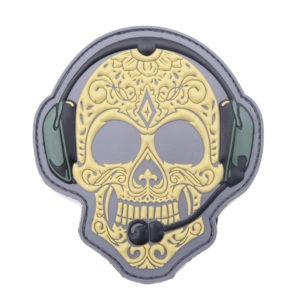 3d-rubber-patch-totenkopf-sanmaria-muerto-gta5-abzeichen-bundeswehr-paintpabb-security-sportschütze-moral-patch-klettpatch