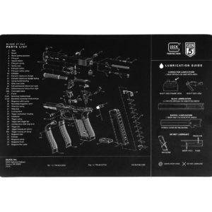 glock-gen5-unterlage-reinigungsunterlage-glock17-9mm-reinigungsmappe-fanartikel-schwarz