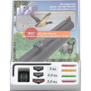 lpa-fiber-optic-leuchtkorn-kimme-korn-visier-bdf-bockdoppelflinte-laufschiene-jagd-flinte