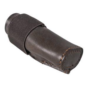 mündungsschoner-mündungsschutz-laufschonder-laufschutz-jagdwaffe-jagdwaffen-zubehör-echt-leder-treibjagd-bockjagd-jagdflinte-doppelflinte