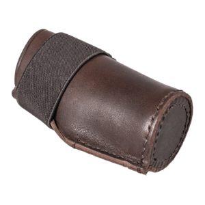 mündungsschoner-mündungsschutz-laufschonder-laufschutz-jagdwaffe-jagdwaffen-zubehör-echt-leder-treibjagd-bockjagd-jagdflinte-drilling-kaliber12