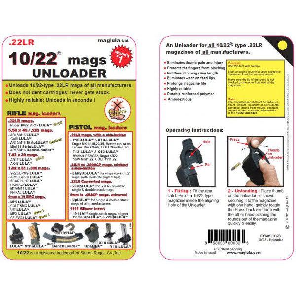 maglula-ruger-10-22-lula-unloader-speedloader-entlader-universal-anweisung