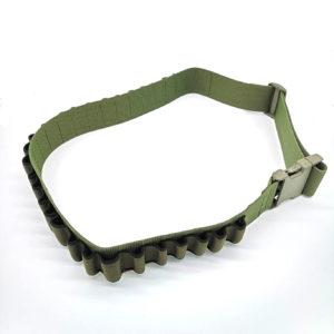 vega-patronengurt-patronenhalter-kaliber12-kaliber-schrothalter-schrotmunition-flintenmunition-skeet-trap-tontaubenschiessen-jagd-jagen-jagdzubehoer-12gauge-shell-holder-oliv
