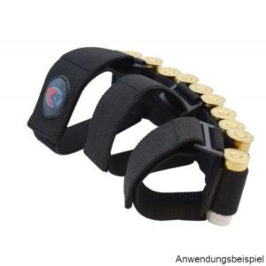 daa-unterarm-patronenhalter-patronengurt-kaliber12-schrotpatronen-ipsc-jagd-sportschießen-front