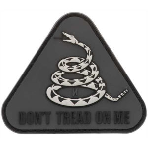 maxpedition-rubber-patch-klettpatch-dont-tread-on-me-abzeichen-grau