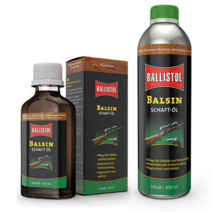 balsin-schaftöl-schaftpflege-öl-schaft-pflegeöl-jagdschaft-schaftpflegeöl-imprägnierung-holzschaft-ballistol-jagdgewehr-reinigen-waffenpflege-dunkelbraun