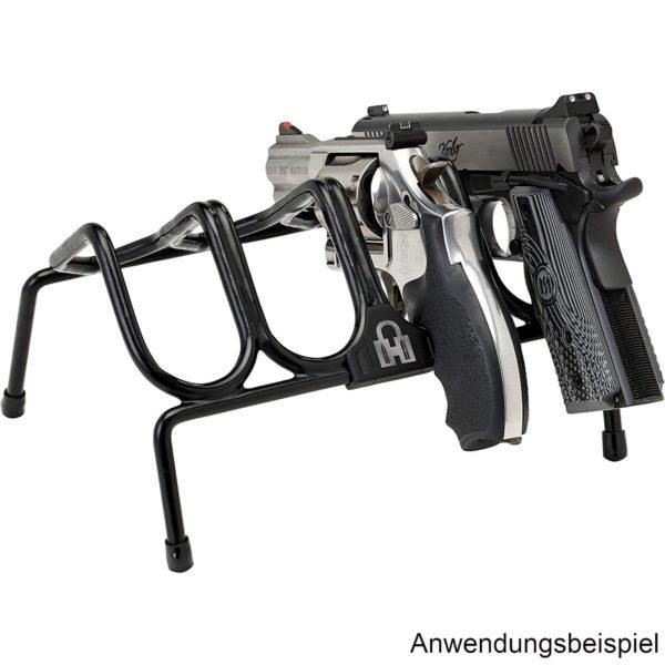 hornady-kurzwaffengestell-waffenschrank-waffentresor-zubehör-pistol-rack-4-guns- 95820-demo