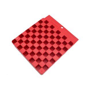 hornady-universal-ladebrett-ladeblock-reloading-block-wiederladen-zubehör-hülsen-rot