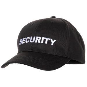 security-sicherheitsdienst-mütze-basecap-cappi-security-ausrüstung-sicherheitsbedarf-dienstkleidung-dienst-zubehör-baseball-cap