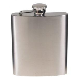 flachmann-taschenflasche-edelstahl-alkohol-etui-trinkflasche-unterwegs-mfh-chrom-matt-225-33273a