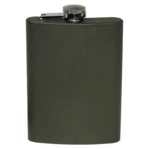 flachmann-taschenflasche-edelstahl-alkohol-etui-trinkflasche-unterwegs-mfh-oliv-225-33275a