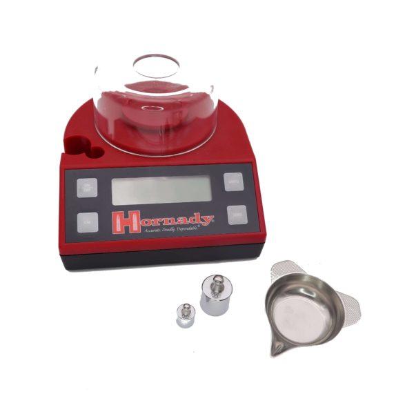 hornady-lnl-pulverwaage-elektronisch-digitalwaage-electronic-bench-sale-lock-n-load-pulver-waage-wiederladen-pulverpfanne