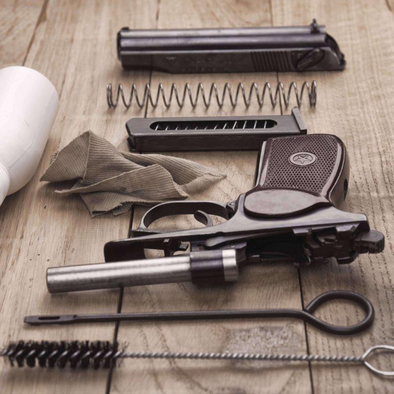 Waffenpflege