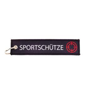 schlüsselanhänger-sportschütze-schützenverein-sportschießen-schießen-waffenladen-ammo-depot-schlüsselband-gewebt