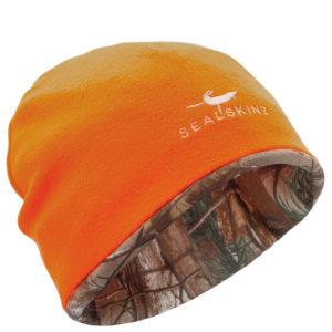 sealskinz-wasserdicht-jagdmütze-jagd-bekleidung-kaufen-realtree-camouflage-signal-orange-beanie-jagd-treibjagd-jagdshop-ammo-depot-orange