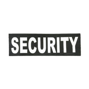 security-klett-schild-security-abzeichen-reflektierende-security-patch-security-ausrüstung-kaufen-groß