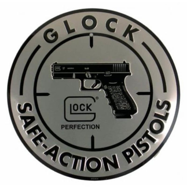 glock-safe-action-schild-alu-30cm-glock-fanartikel-geschenkidee-für-männer-glock-merchandise-deko-für-männer