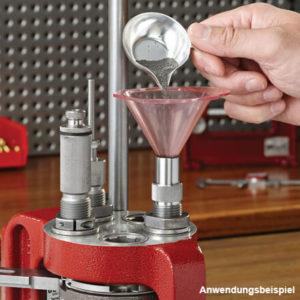 hornady-powder-funnel-pulver-füll-trichter-matrize-pulverfüller-kaufen-ammo-depot-hornady-lnl-ap-kaufen-wiederladen-berlin-wiederladepresse