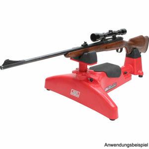 mtm-einschießbock-waffenauflage-vorderschaftauflage-hinterschaftauflage-waffe-einschießhilfe-predator-shooting-rest-psr-30-mtm-case-gard-schieß-bock-zielfernrohr-einszellen-repetiergewehr