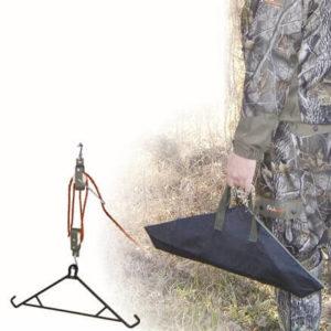 hme-4-1-game-hanging-gambrel-galgen-flaschenzug-wildbretverwertung-wild-haken-wild-weiden-kühlen-jagdbedarf-hunting-made-easy